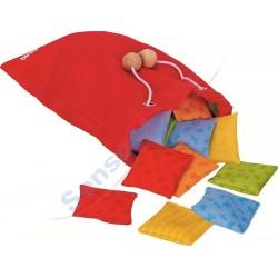 Memo gra sensoryczne poduszki