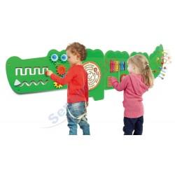 Panel ścienny duży krokodyl
