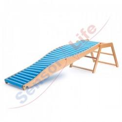 Zjeżdżalnia rolkowa Falista 205 x 60 cm