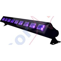 Belka LED UV BAR 9 x 3W