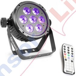 Reflektor LED FLAT PAR RGBAW-UV