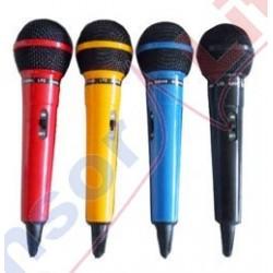 Zestaw 4 mikrofonów dynamicznych