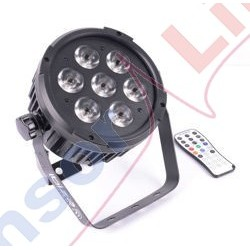Reflektor LED PAR RGBAW-UV