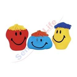 Duży anty-stresowy gniotek z uśmiechem, 3 wzory