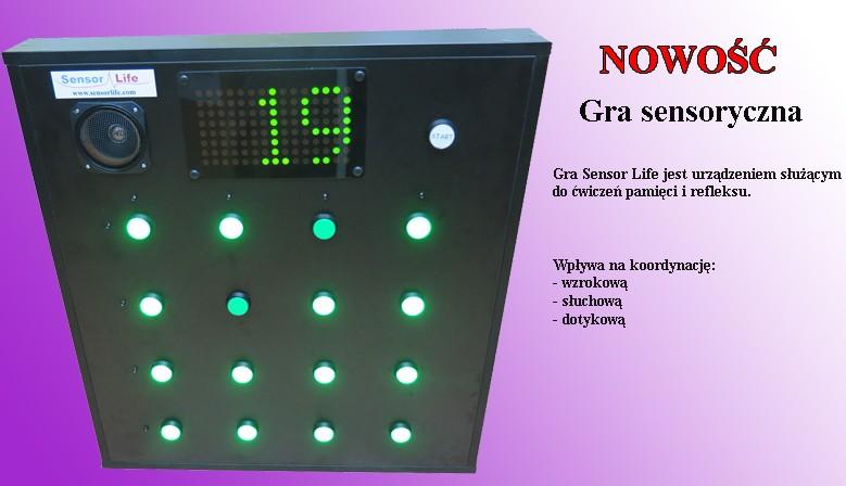 Gra sensor life